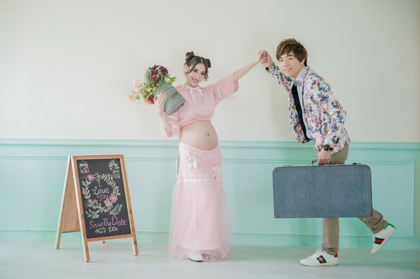 【比堤婚紗.孕婦照】羽侑 媽媽_25