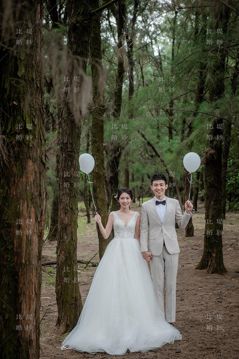 台中韓系婚紗 比堤婚紗 推薦新人:嘉佑&婷雅 九天黑森林