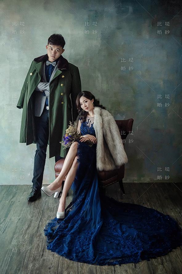 比堤婚紗 推薦新人:孟剛&瓊姿 時尚風格