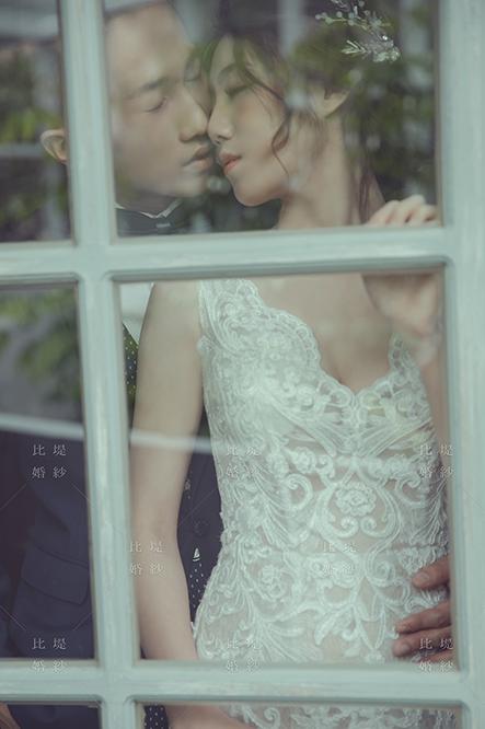 比堤婚紗 推薦新人:煜鈞&偉琪 深情一吻
