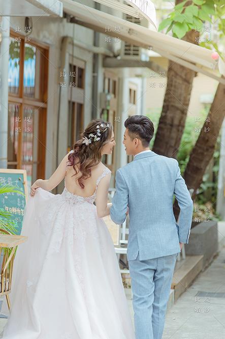 比堤婚紗 推薦新人:王聖凱&林奈尼 自然互動