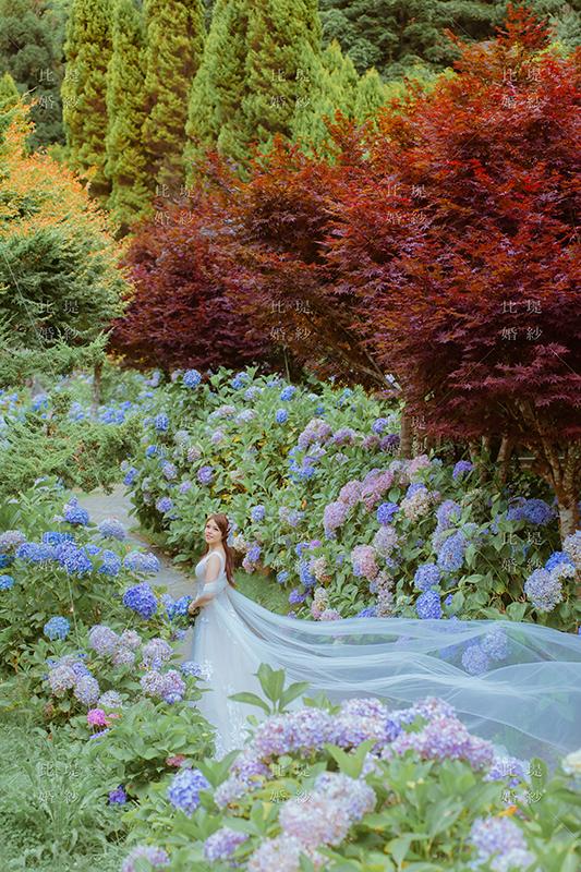 婚紗展 比堤婚紗 推薦新人:聖文&美辰 杉林溪