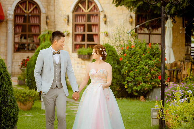 婚紗展 比堤婚紗 推薦新人:聖文&美辰 富林園