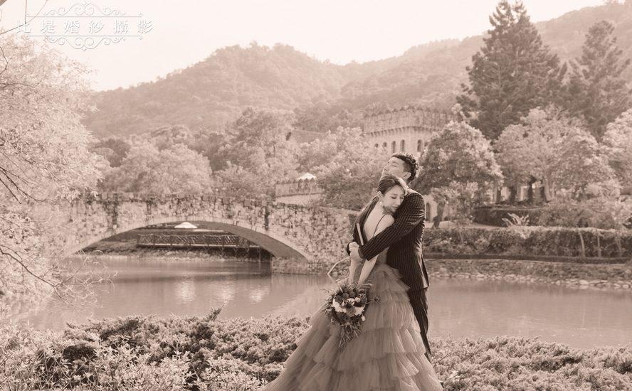 台中婚紗 ╳ 比堤婚紗【Hedwig】英倫古堡婚禮_COVER