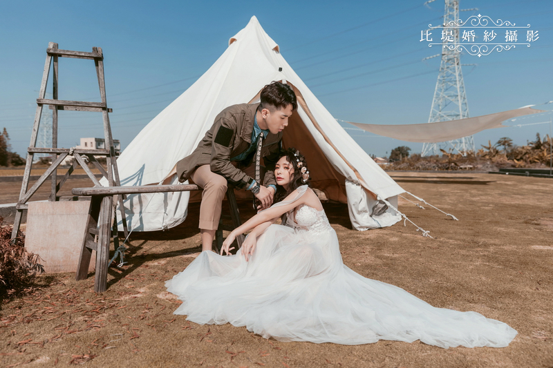 比堤婚紗-婚紗攝影作品-Stone Park_14