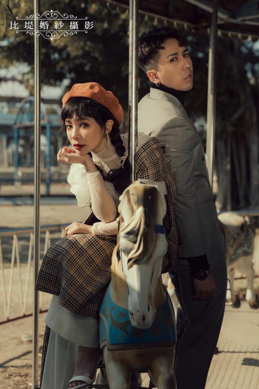 比堤婚紗-婚紗攝影作品-Stone Park_30