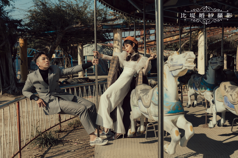 比堤婚紗-婚紗攝影作品-Stone Park_31