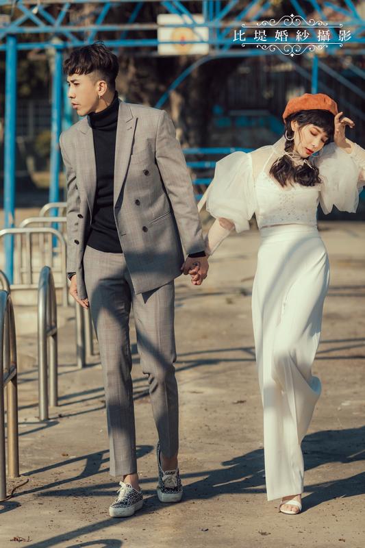 比堤婚紗-婚紗攝影作品-Stone Park_38
