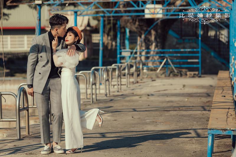 比堤婚紗-婚紗攝影作品-Stone Park_39