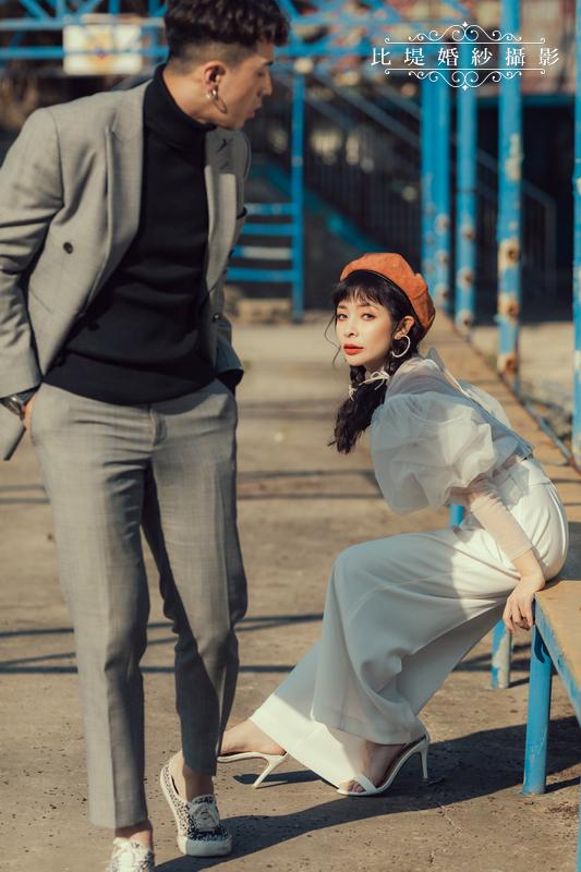 比堤婚紗-婚紗攝影作品-Stone Park_40