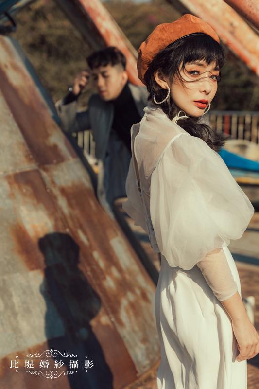 比堤婚紗-婚紗攝影作品-Stone Park_43
