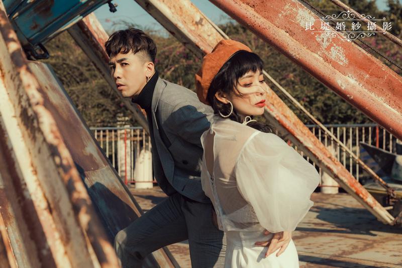 比堤婚紗-婚紗攝影作品-Stone Park_44