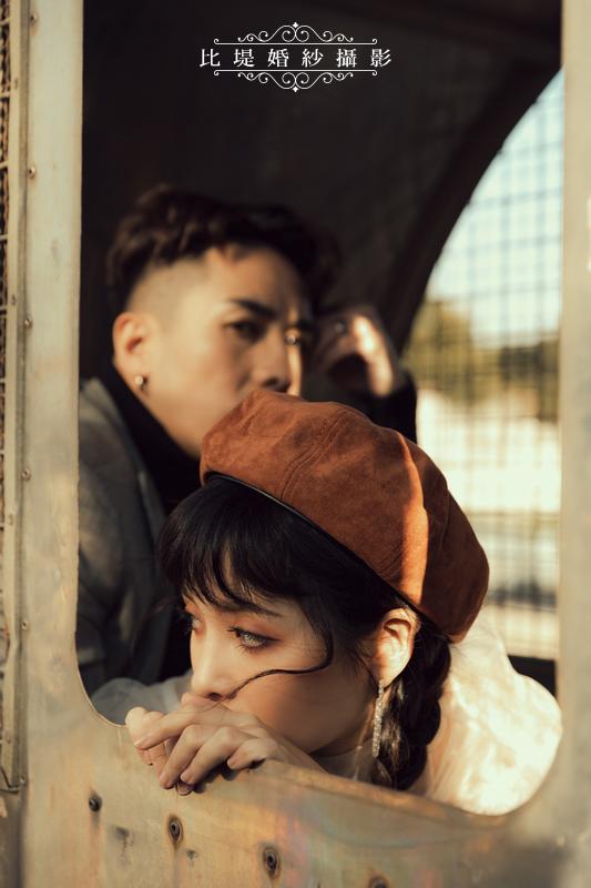 比堤婚紗-婚紗攝影作品-Stone Park_47