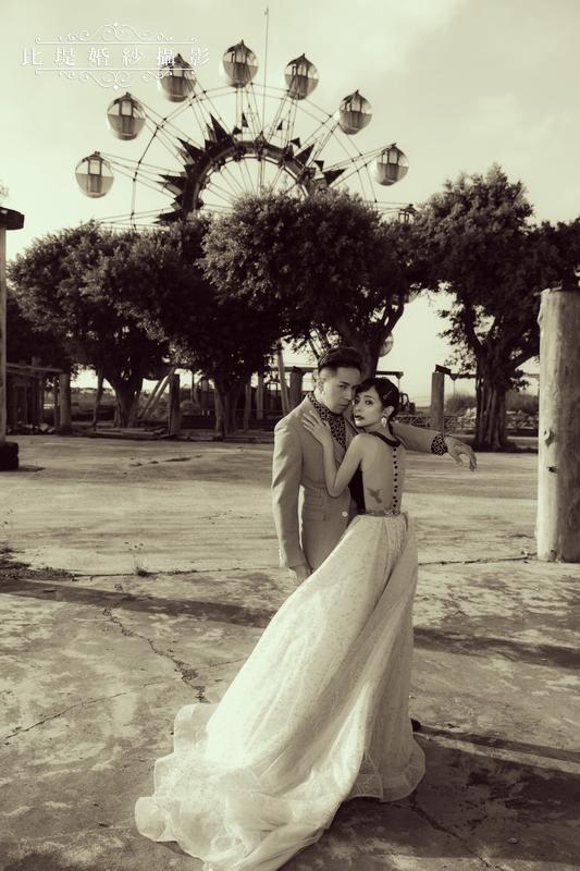 比堤婚紗-婚紗攝影作品-Stone Park_56