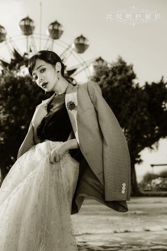 比堤婚紗-婚紗攝影作品-Stone Park_58