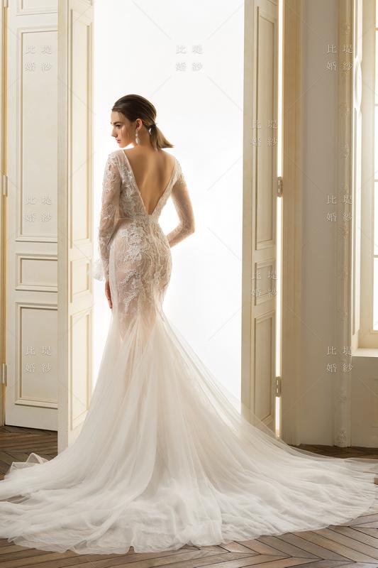 比堤婚紗-2020新款禮服-101098_4C