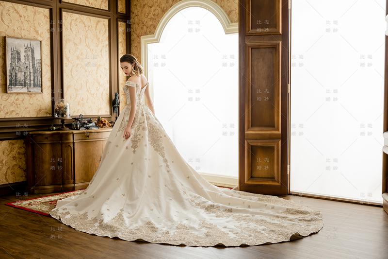 比堤婚紗-2020新款禮服-111457-1C