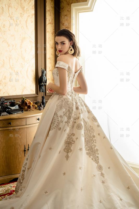 比堤婚紗-2020新款禮服-111457-3C