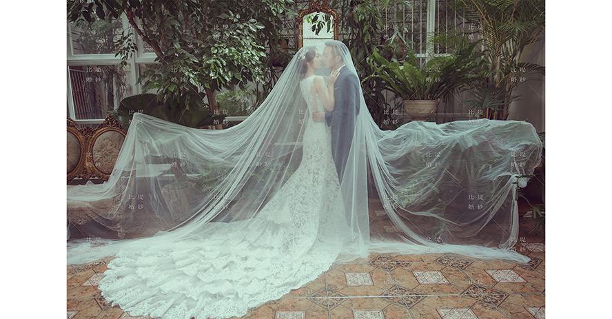 比堤婚紗 推薦新人:煜鈞&偉琪 TATA攝影棚拍