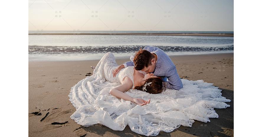 比堤婚紗 推薦新人:智洋&Ivy Hu 海邊 以大地為床