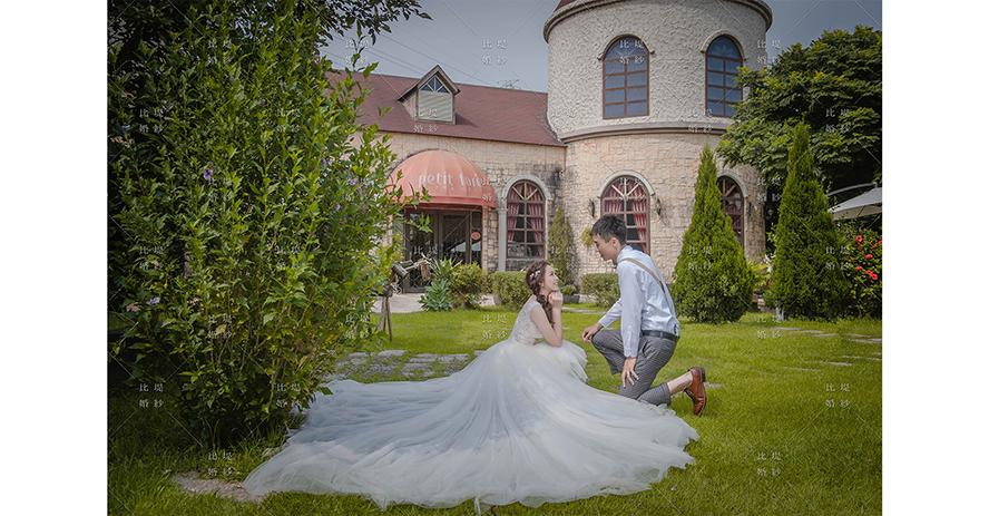 比堤婚紗 推薦新人:鐘皓&梓瑜 城堡婚禮