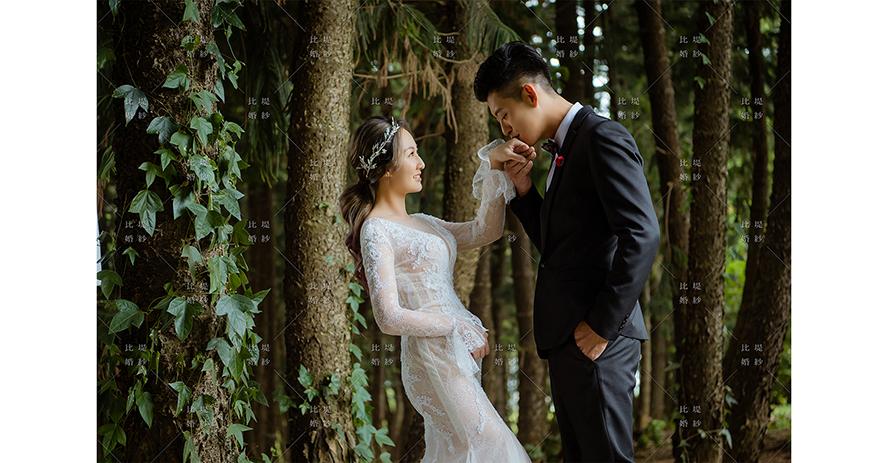 比堤婚紗 推薦新人:王聖凱&林奈尼 九天黑森林