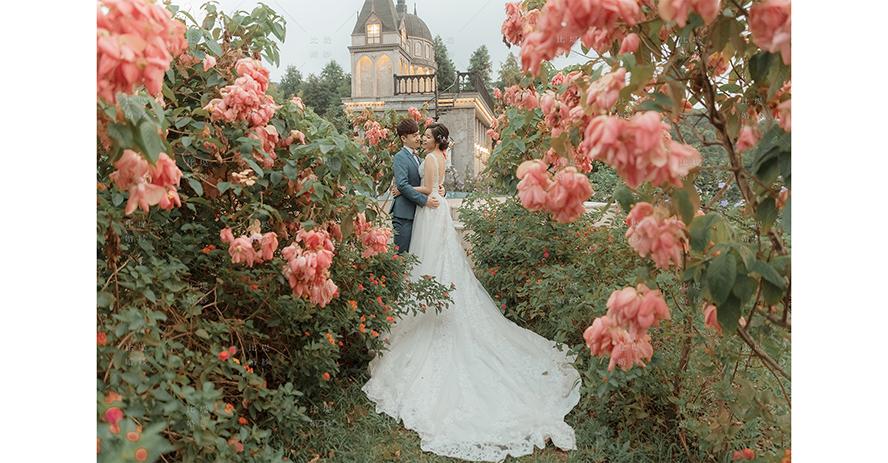 比堤婚紗 推薦新人:哲弘&依依 攝影基地城堡
