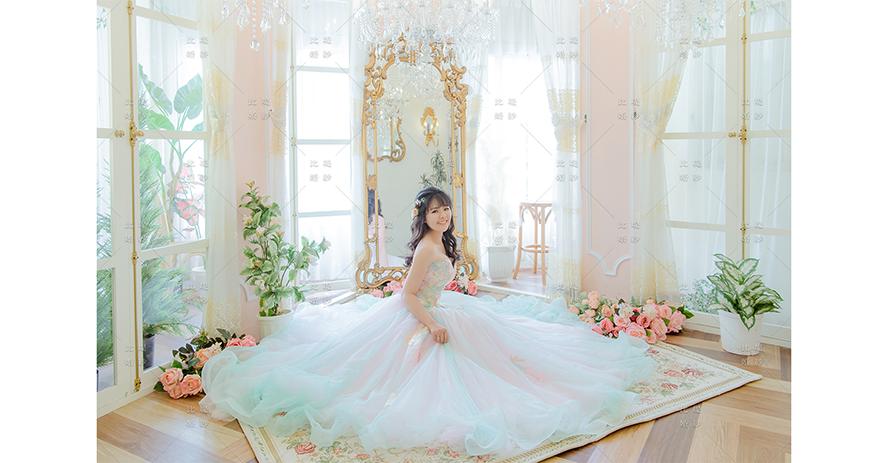 婚紗 風格 比堤婚紗 推薦新人:祥瑋&硯淇 粉嫩彩色蕾絲