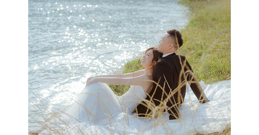 台中婚紗 推薦 比堤婚紗 推薦新人:阿嘉&豆豆 日月潭湖畔