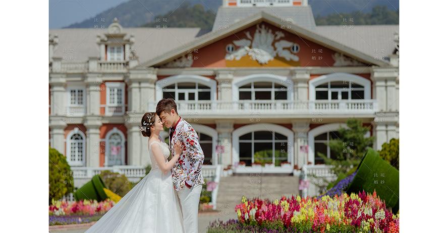 新娘禮服 比堤婚紗 推薦新人:煒琳&坊宸 九族文化村
