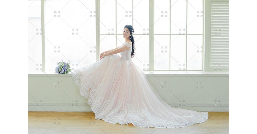 台中婚紗展 比堤婚紗 推薦新人:Mr. Liu&Mrs. Chang 選擇比堤婚紗