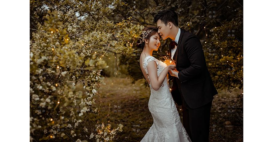 婚紗 推薦 比堤婚紗 推薦新人:Allen&Anna 都會公園