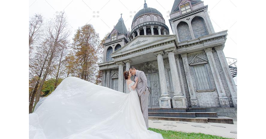 台中婚紗基地 比堤婚紗 推薦新人:昱斌&佳琦 愛麗絲城堡