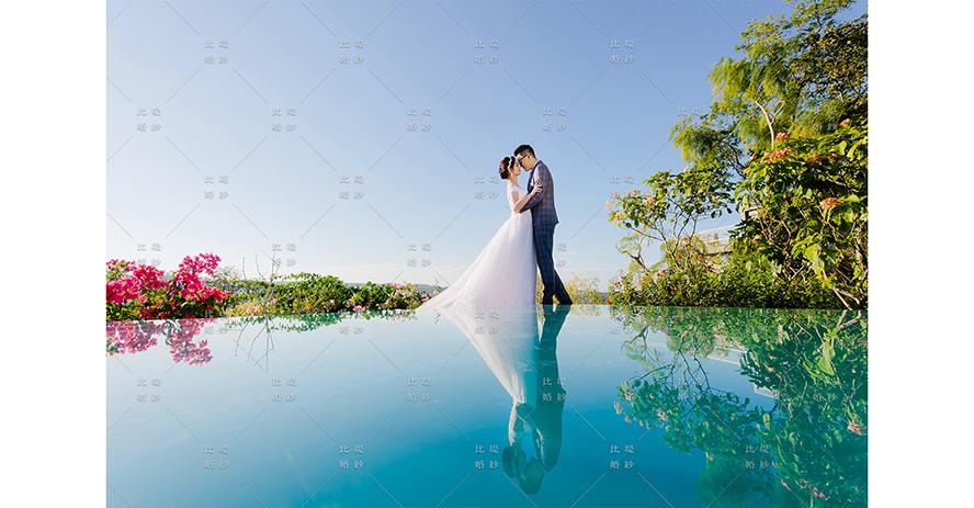 比堤婚紗 推薦新人:Mr. Liu&Mrs. Chang 愛麗絲攝影基地