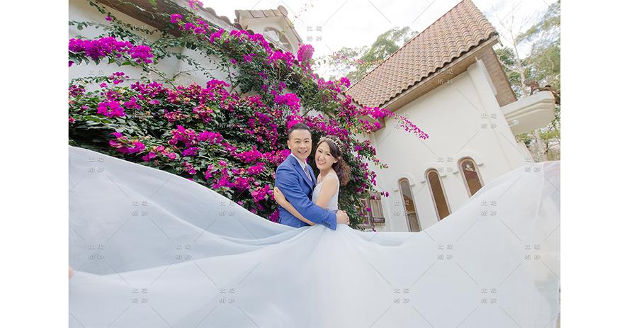 台中婚紗攝影 比堤婚紗 推薦新人:宗易&曉慧 綠葉方舟