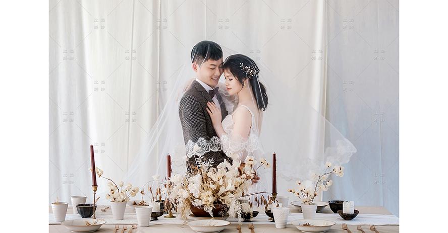 婚紗放大照 比堤婚紗 推薦新人:王騏&美芳 顏氏牧場