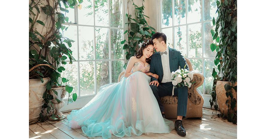 比堤婚紗 推薦新人:晉賢&宜靖 攝影基地 封面