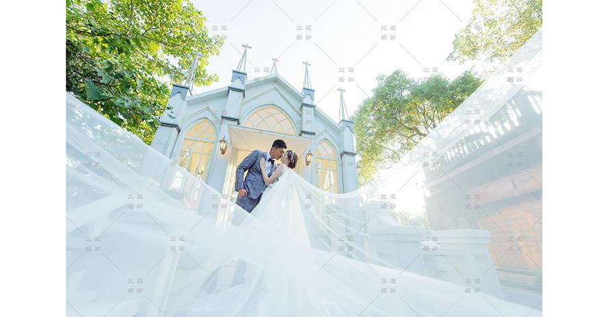 比堤婚紗 推薦新人:Mr. Chang&Mrs. Liu 莫內 白色城堡