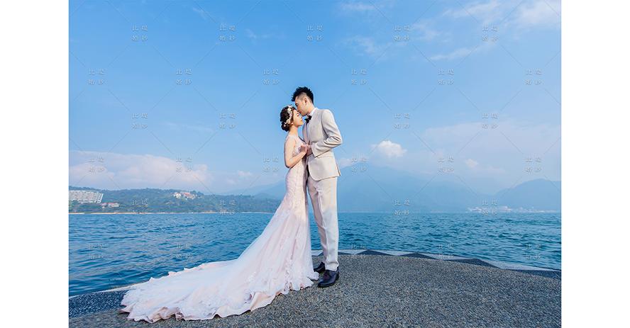 台中拍婚紗價格 比堤婚紗 推薦新人:Mr. Lin&Mrs. Chou 日月潭