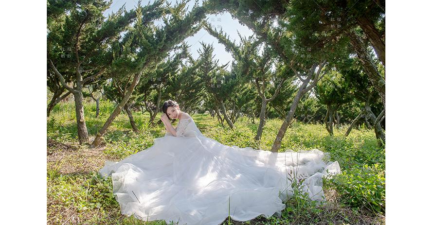 台中 婚紗 推薦 比堤婚紗 推薦新人:宇毅&宜玟 都會公園 拍攝白紗