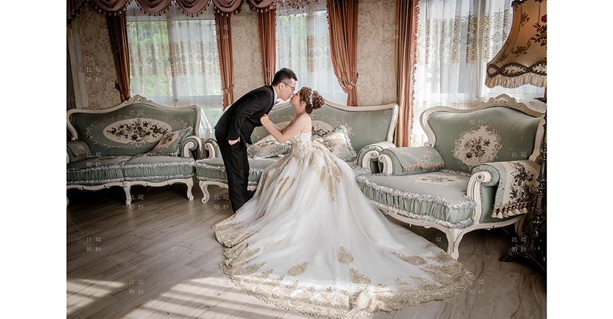 新娘 秘書 推薦 比堤婚紗 推薦客人:凱傑&馨予 愛麗絲攝影基地