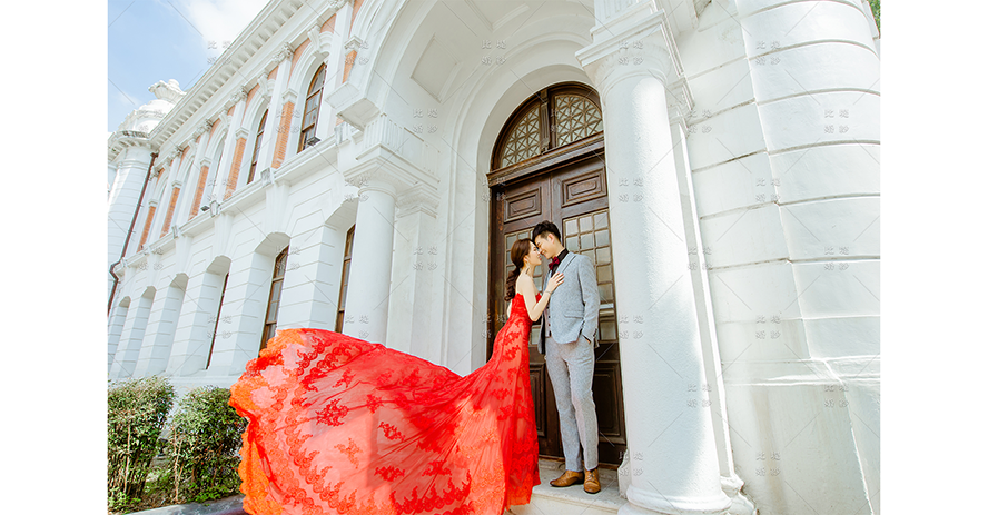 婚禮拍攝 推薦 比堤婚紗 推薦客人:David&Jane 臺中市役所
