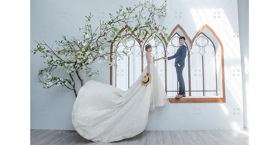婚紗工作室 比堤婚紗 推薦新人:博瀚&鴻馨 影相視務所