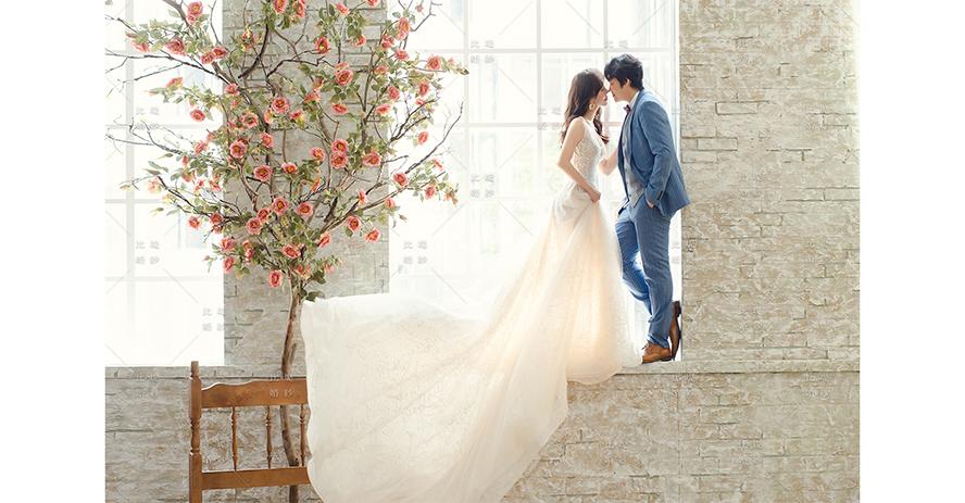 挑婚紗 比堤婚紗 推薦新人:石磊&景涵 影相視務所