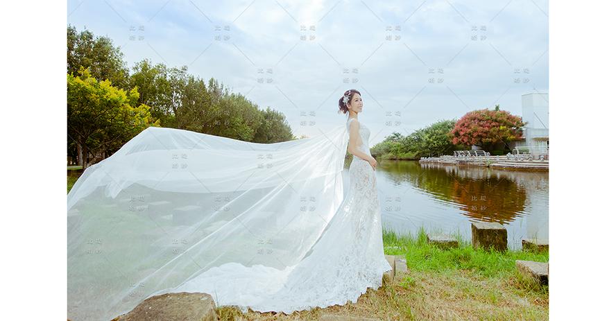 婚紗公司 推薦 台中婚紗 比堤婚紗 by Mr. Chou&Mrs. Liao 都會公園
