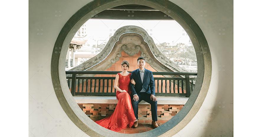 婚禮 攝影 推薦 比堤婚紗 推薦客人:老惟&顏顏 民俗公園